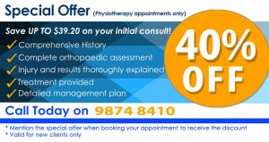 Physio Epping Offer