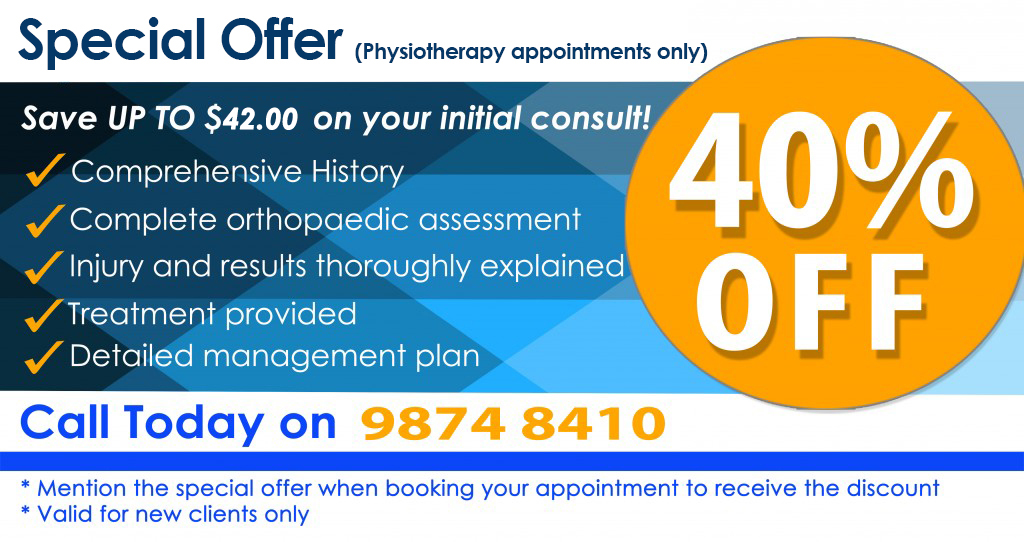 New Patient Physio Offer West Ryde